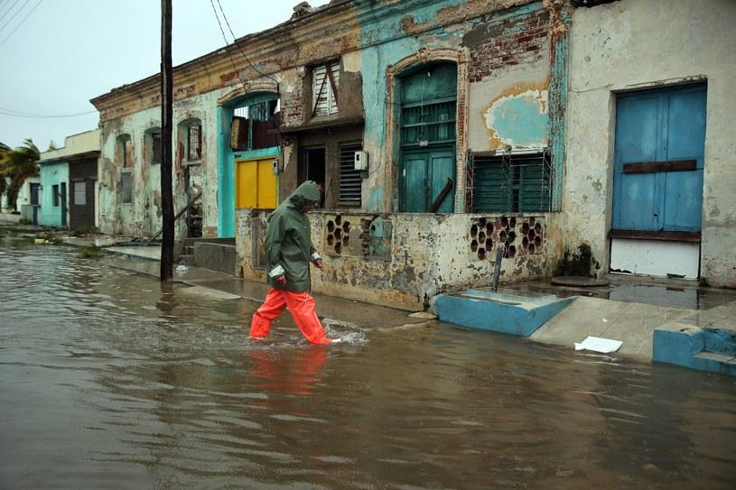 Kuba po przejściu Irmy /ALEJANDRO ERNESTO  /PAP/EPA