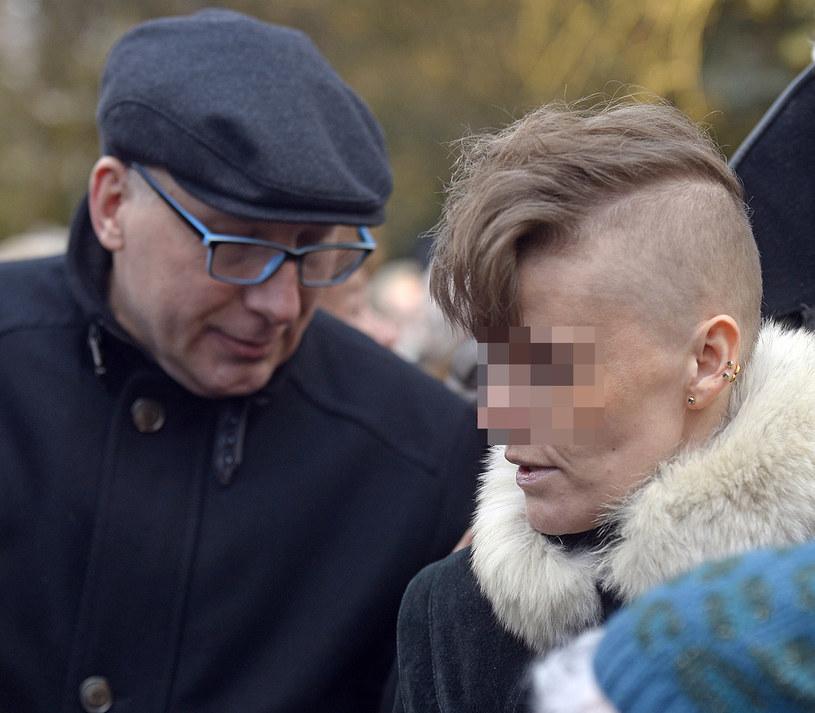 Kuba Sienkiewicz i Julia, adoptowana córka Krystyny Sienkiewicz /Niemiec /AKPA