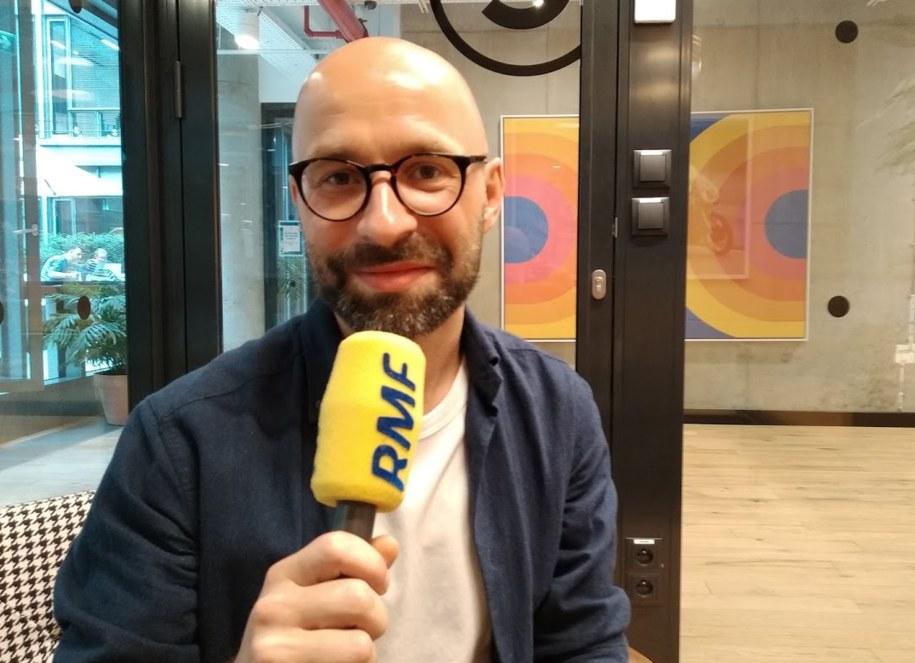 Kuba Walasek ze startupu Too Good to Go Polska /Karol Pawłowicki /RMF FM