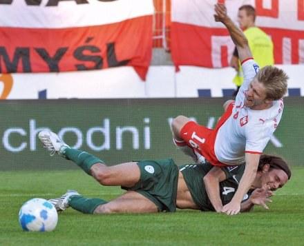 Kuba walczył za dwóch w meczu ze Słowenią, Fot. Janek Skarżyński /AFP