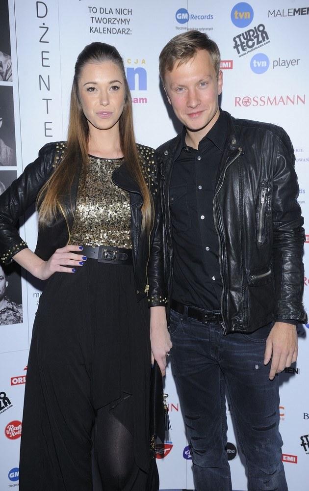Kuba Wesołowski i Agnieszka Szczurek /Jarosław Antoniak /MWMedia