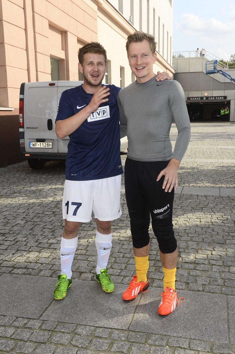 Kuba Wesołowski ze swoim przyjacielem Antkiem K. /Jarosław Antoniak /MWMedia