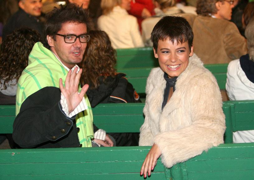Kuba Wojewódzki i Anna Mucha /Lukasz Ostalski /Reporter