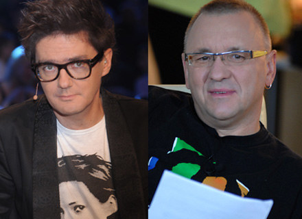 Kuba Wojewódzki i Jurek Owsiak, fot. Andras Szilagyi /MWMedia