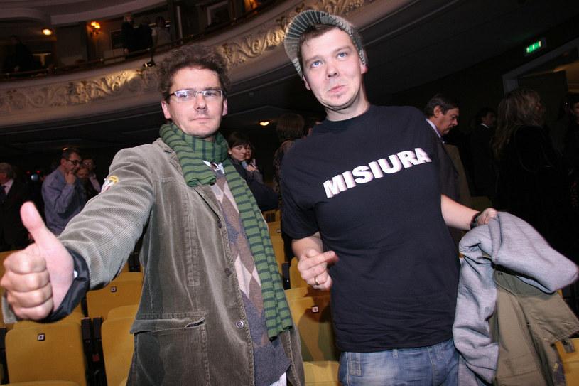 Kuba Wojewódzki i Michał Figurski w 2006 roku /Palicki /AKPA