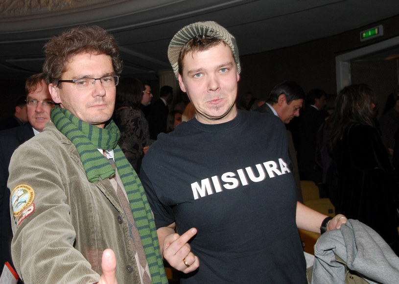 Kuba Wojewódzki i Michał Figurski w 2006 roku. /Tricolors/Eastnews /East News