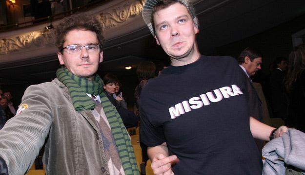 Kuba Wojewódzki i Michał Figurski /AKPA