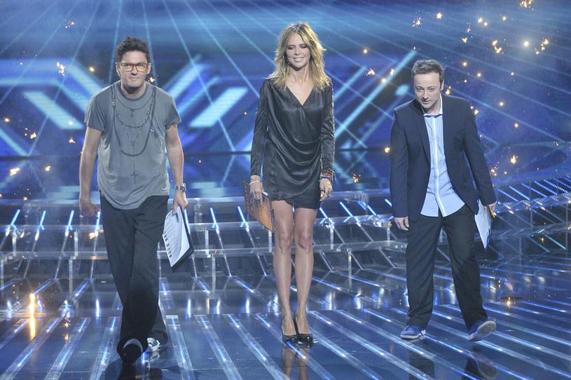 """Kuba Wojewódzki, Maja Sablewska i Czesław Mozill w """"X-Factor"""" /Baranowski /AKPA"""