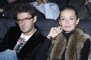 Kuba Wojewódzki widywany był również z modelką Katarzyną Sowińską /fot  /AKPA