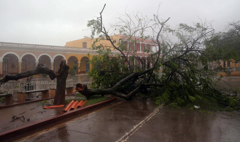 Kuba zniszczona przez żywioł /ALEJANDRO ERNESTO  /PAP/EPA