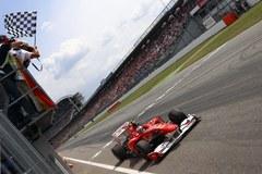 Kubica 7. w GP Niemiec, triumfował Alonso