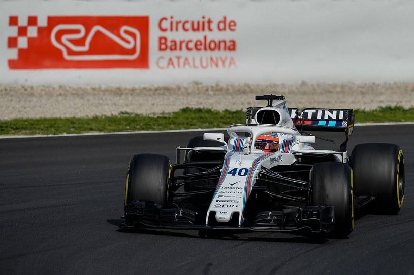 Kubica jeździł już w tym roku na torze pod Barceloną, jeszcze przed rozpoczęciem sezonu /AFP
