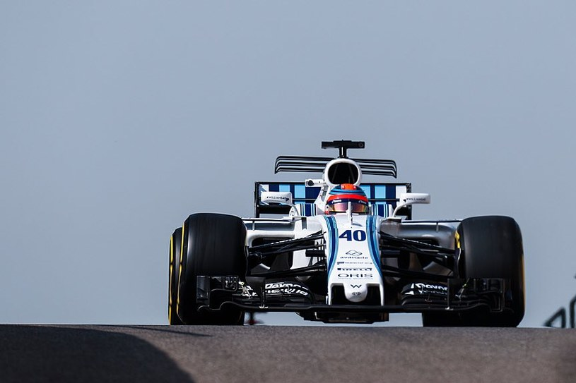 Kubica w bolidzie Williamsa. Na ten widok czekało wielu polskich kibiców / Fot: Twitter Williams F1 /