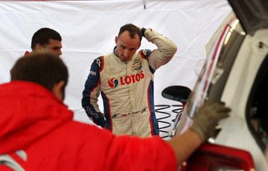 Kubica wycofał się z Rajdu Polski