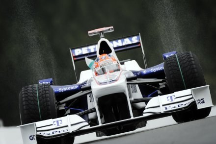 Kubica złapał formę po przerwie wakacyjnej w F1 /AFP