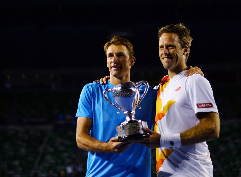 Kubot i Lindstedt wygrali Australian Open - pierwszy wielkoszlemowy turniej w tym roku /AFP
