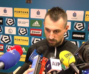 Kucharczyk po 4-0 z Górnikiem Zabrze. Wideo
