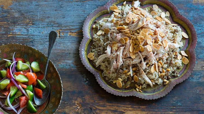 Kurczak Z Cieciorką I Ryżem Po Libańsku Menway W Interiapl