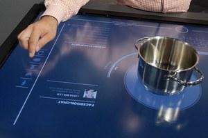 Kuchnia przyszłości - wielki tablet, na którym będziemy gotować