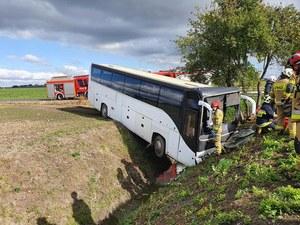 Kujawsko-pomorskie: Wypadek autokaru. Przedszkolaki trafiły do szpitala