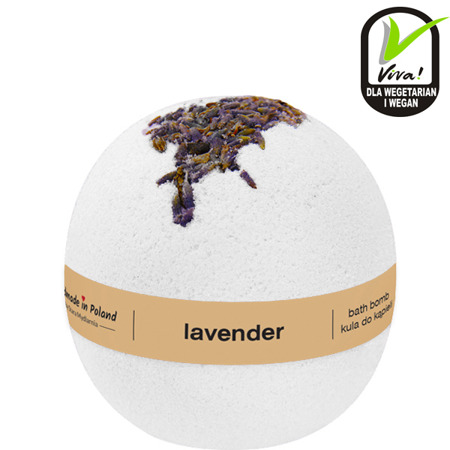 Kula do kąpieli Lavender /materiały prasowe