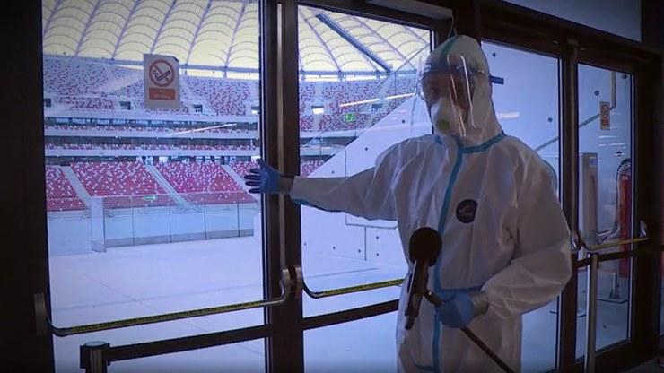 Kulisy działalności Szpitala Narodowego /Polsat News
