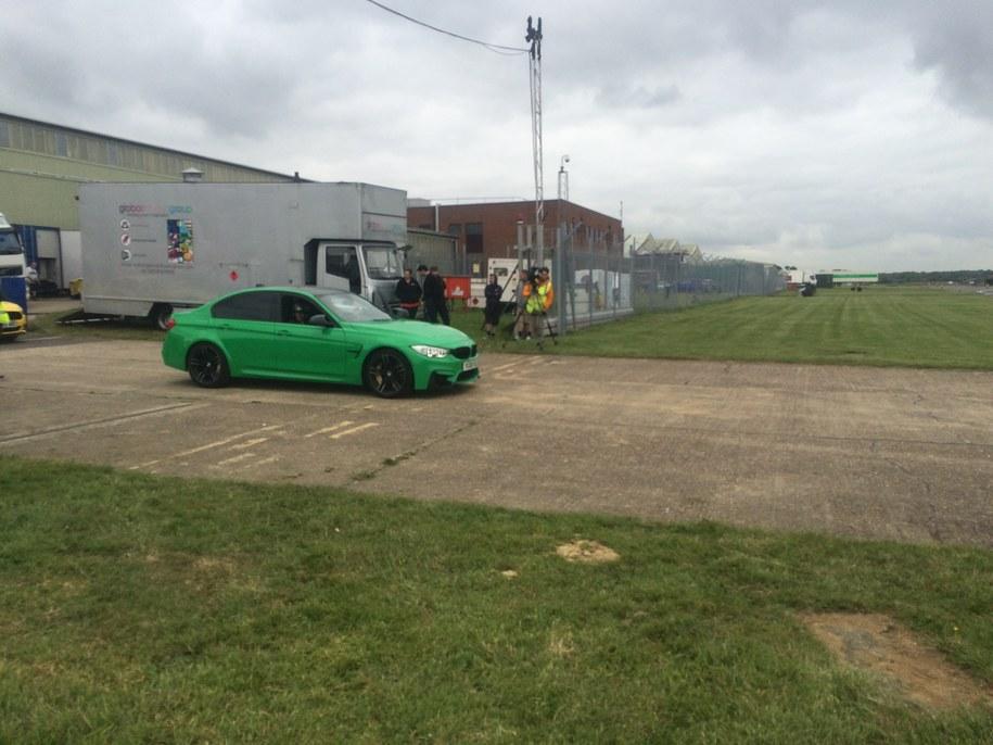 """Kulisy produkcji """"Top Gear"""" /Michał Dobrołowicz /RMF FM"""