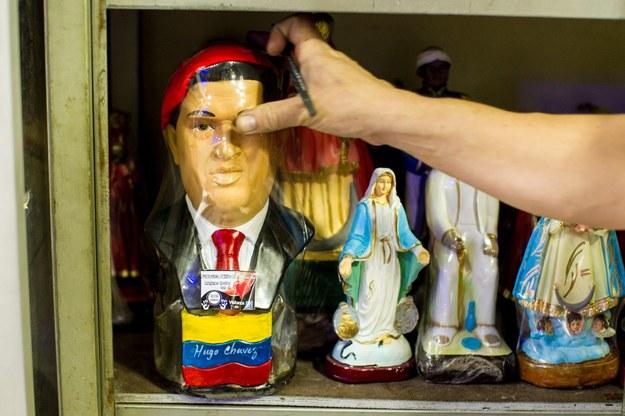 Kult Chaveza ma już religijną postać