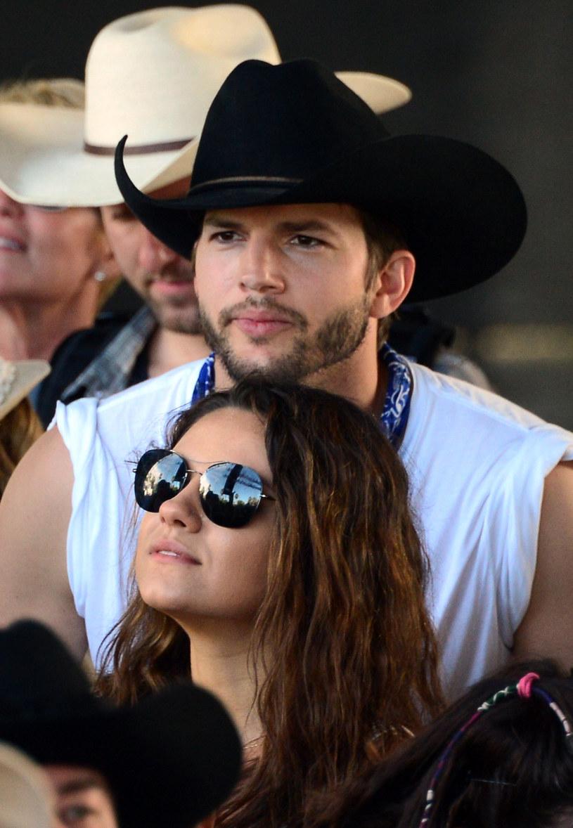 Kunis i Kutcher kilka miesięcy temu zostali rodzicami /Frazer Harrison /Getty Images