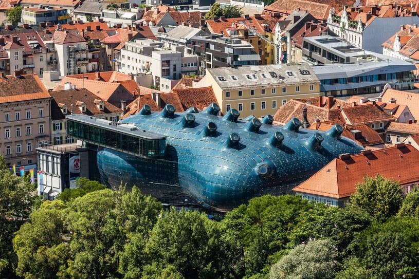 Kunsthaus Graz - co przypomina ci ten budynek? /123RF/PICSEL