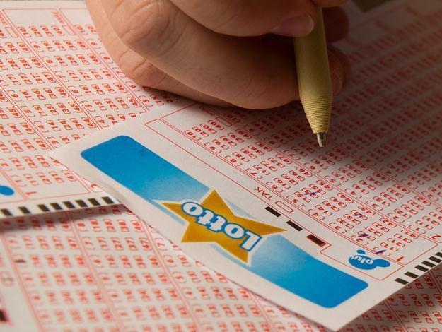 Kupon Lotto, fot. Grzegorz Michałowski /PAP