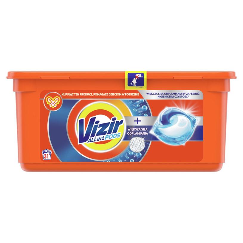 Kupując teraz kapsułki lub proszki do prania Vizir pomagasz dzieciom /materiały prasowe