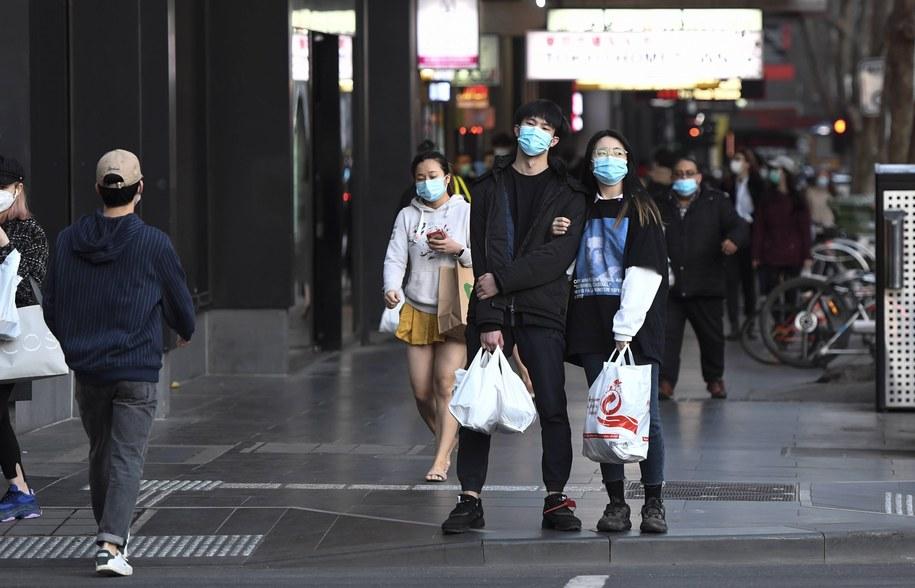 Kupujący w Melbourne /ERIK ANDERSON /PAP/EPA