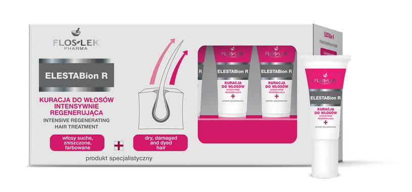 Kurację do włosów intensywnie regenerującą ELESTABion R /Styl.pl/materiały prasowe