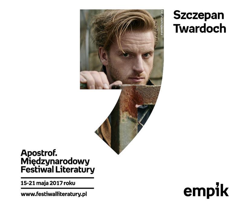 Kuratorem drugiej edycji festiwalu został Szczepan Twardoch /materiały prasowe