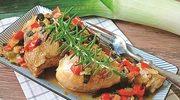 Kurczak duszony w warzywach