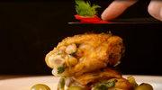 Kurczak duszony z oliwkami i koprem włoskim