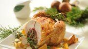 Kurczak faszerowany grzybami