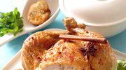 Kurczak faszerowany owocowym suszem