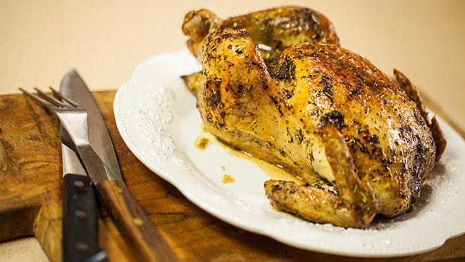 Kurczak pieczony po wiejsku /materiały prasowe