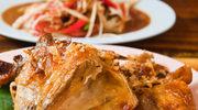 Kurczak pieczony z pasternakiem