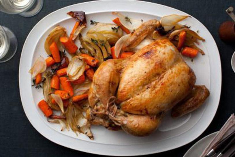 Kurczak pieczony z rożna Iny Gartner /materiały prasowe