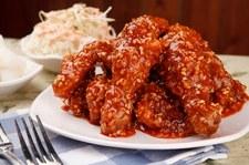 Kurczak po koreańsku - palce lizać!