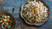Kurczak z cieciorką i ryżem po libańsku