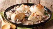 Kurczak z leśnymi grzybami w sosie śmietanowym