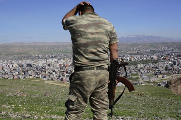 Kurdowie i Turcja prowadzą regularną walkę zbrojną /AFP