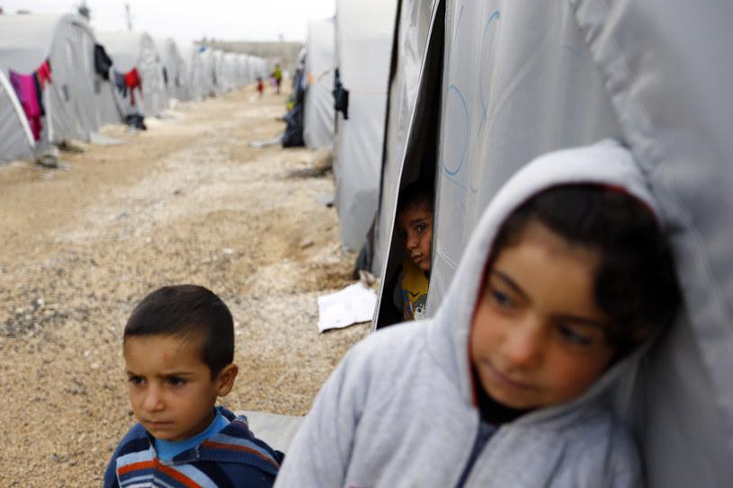 Kurdowie w obozie dla uchodźców /Agencja FORUM