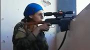 Kurdyjka walcząca z ISIS. To nagranie obiegło świat