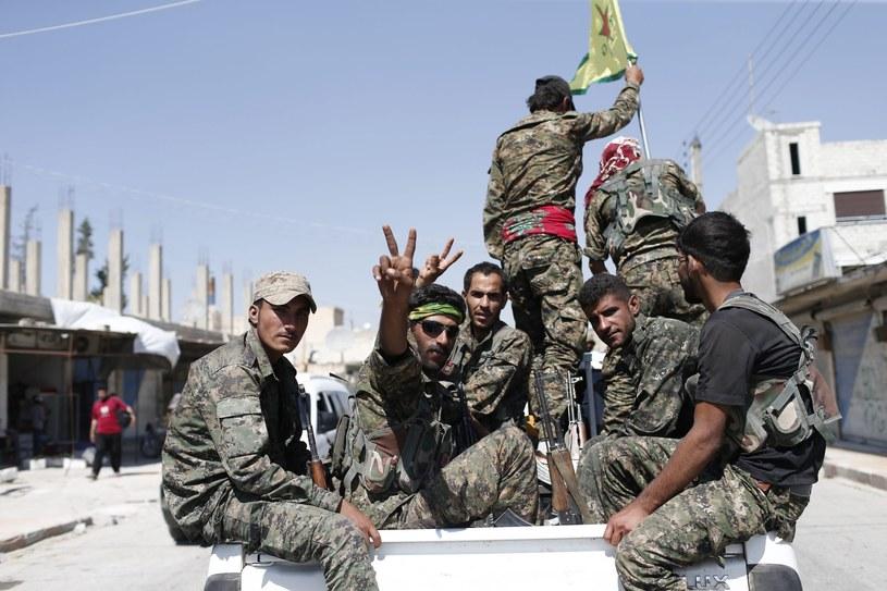 Kurdyjscy żołnierze, zdjęcie ilustracyjne /AFP