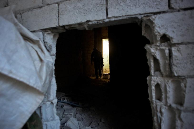 Kurdyjski bojownik w Syrii /AHMED DEEB /AFP